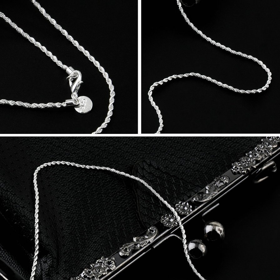 1pc Women Girl Lady Twist Rope Chain Necklace Fashion Jewelry Gift #&