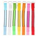 Flashing LED Safety Night Reflective Belt Strap Arm Band Armband For Running H4