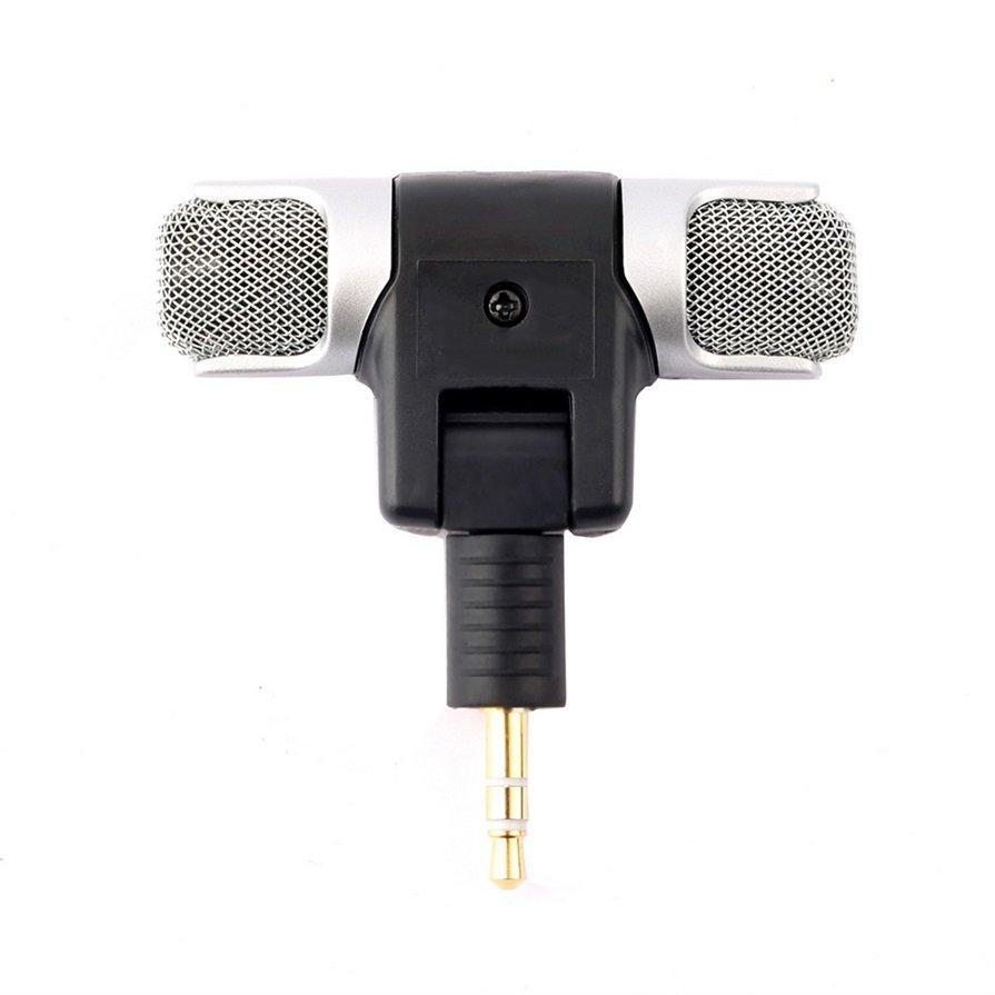 1pc New Mini Stereo Microphone Mic 3.5mm Mini Jack PC Laptop Notebook HP