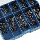1 Set 100pcs 10 Sizes 3# - 12# Fishing Hooks Fish Tackle With Carry Box H5