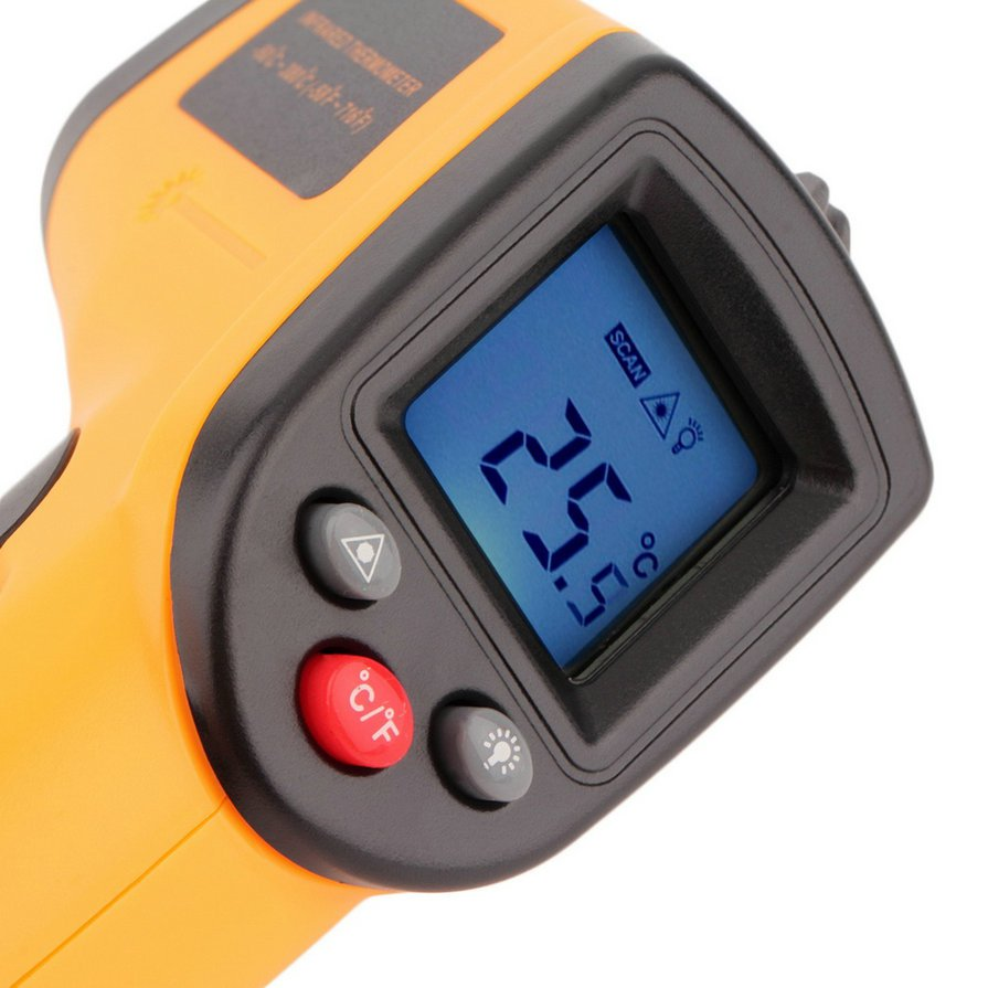 NEW  Non-Contact LCD IR Laser Infrared Digital Temperature Thermometer Gun 8S