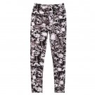 Sexy Fashion Women Stretchy Leggings Skinny Skull Printed Full Length Pants  HS