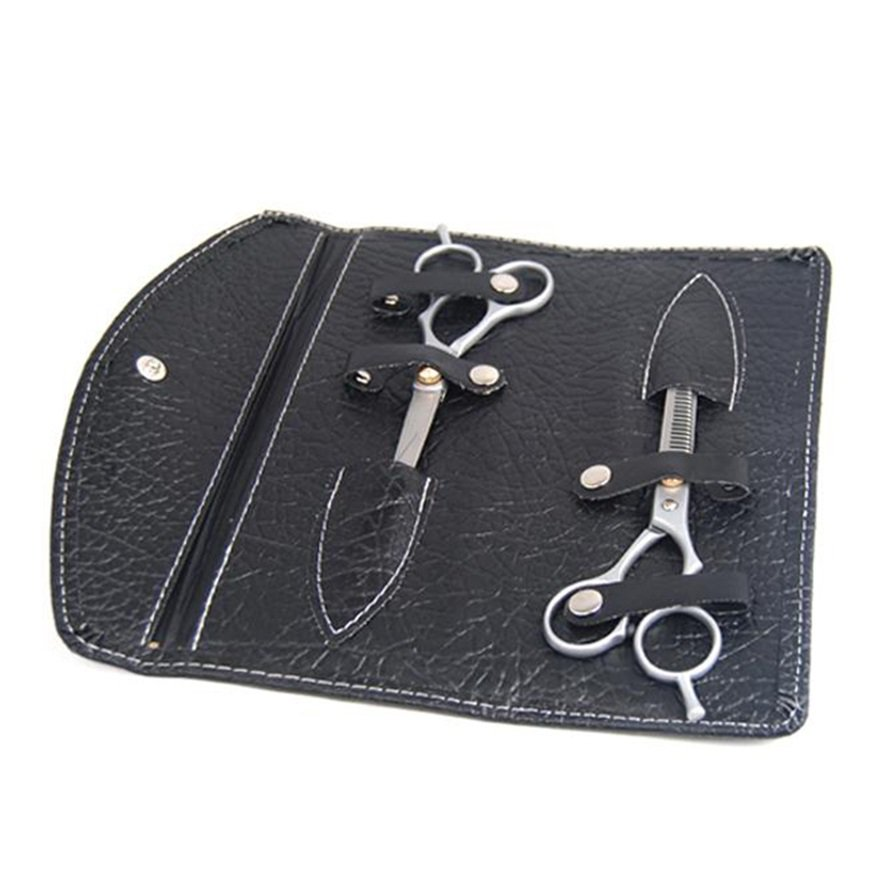 6'' Hair Cutting & Thinning Scissors Shears Hairdressing Set With Case #R