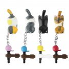 Newest Cat Playing Ball 3.5mm Anti Dust Earphone Jack Plug Stopper For Phone HS