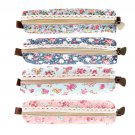 Girls Flower Lace Floral Pencil Case Pen Bag Purse Cosmetic Makeup Pouch Bag HS