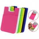 Fashion Adhesive Sticker Back Cover Card Holder Case Pouch For Cell Phone #A
