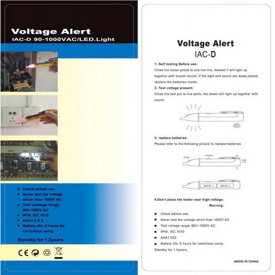 Buy Kewtech Kt115 Electrical Tester Digital Multimeter Upto 600volt Electronics Mercury Circuit Mtm01 Led Light Ac Electric Voltage Volt Alert Pen Detector Sensor 901000v H5