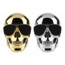 New Portable Metal Skull Glasses Wireless Bluetooth  Super Bass Speaker #N