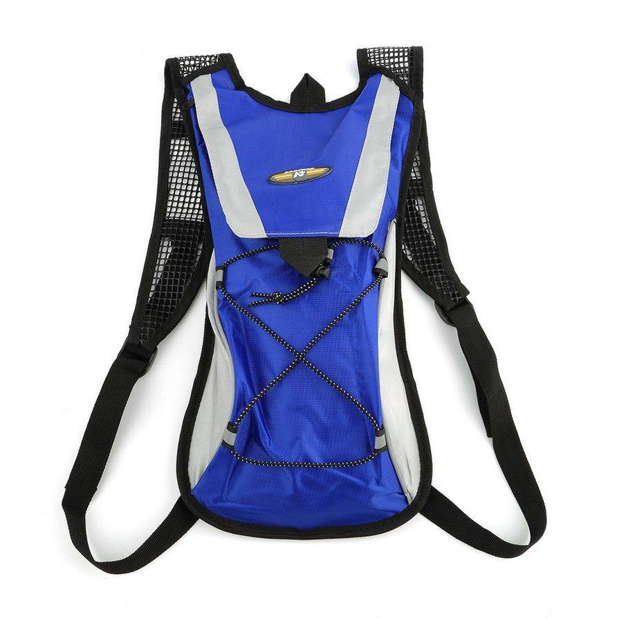 2L Water Bladder Bag Rucksack Cycling Sport Bag Backpack Pack Hiking Camping H2