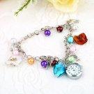 Kiss Ocean- dolphin Alloy Charming Quartz Bracelet Bangle Wrist Watch Women HS