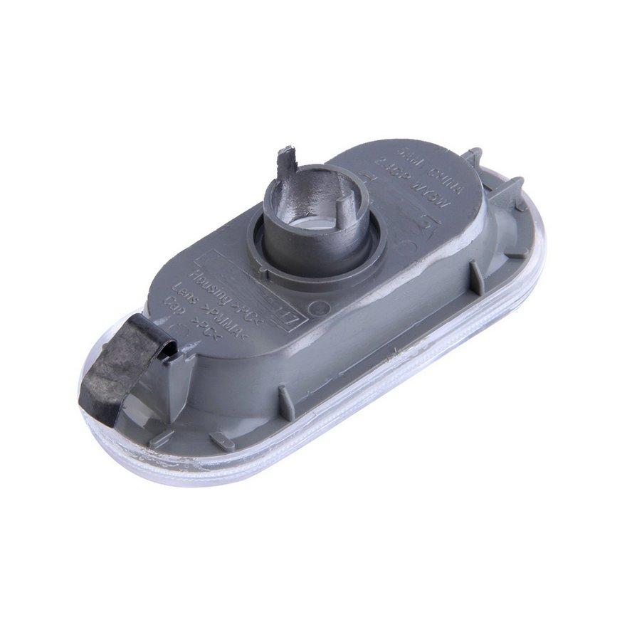 2X Side Marker Light Repeater Indicator For VW Jetta Golf Bora Mk4 Passat B5 @*