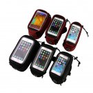 Cycling Bike Bicycle Frame iPhone Holder Pannier Mobile Phone Case Bag Pouch HS