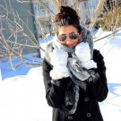 Winter Fashionable Warm Thick Soft Artificial Woolen Scarves 200 x 65cm #A