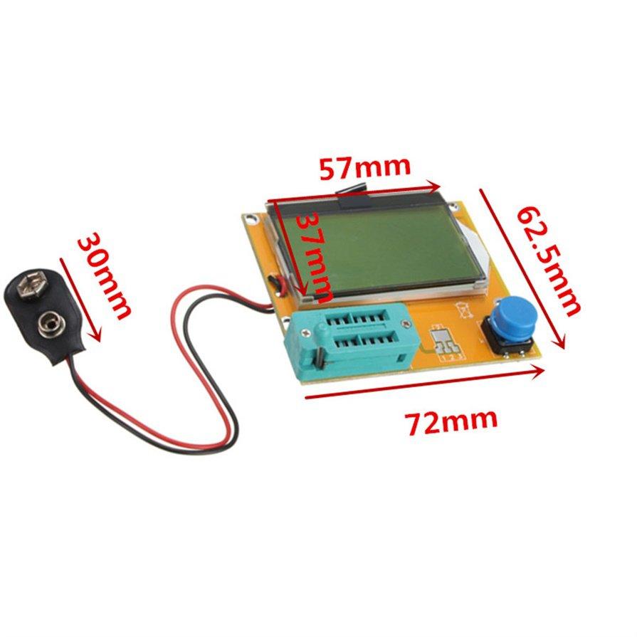 New LCR-T4 Transistor Tester Resistance Capacitance Diode SCR Inductance ESR H5