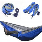 Hot Double Person Portable Parachute Nylon Hammock Travel Camping Large Size #*