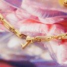 Korean Style Women's Zircon Gold Plated Rhinestone Exquisite Bracelet H5