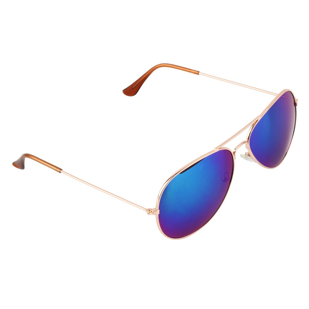 New Unisex Retro 80s Vintage Womens Mens Mirror Aviator Lens Sunglasses HS