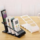Creative Fourfold Receptacle Storage Desktop Shelf For TV Remote Control #Z