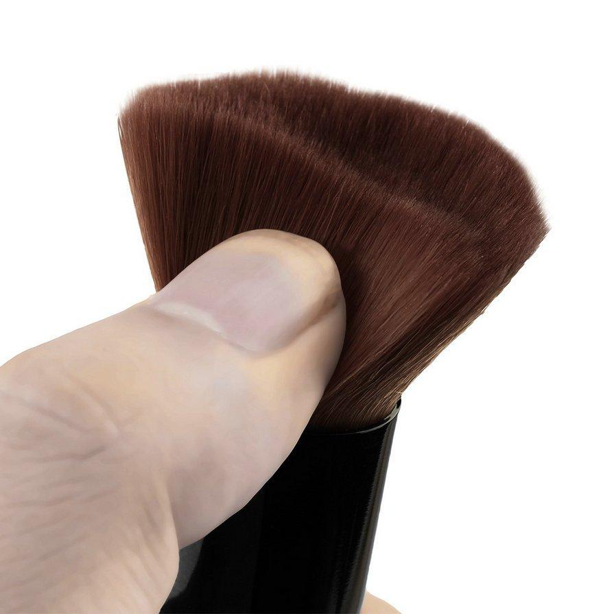 5pcs Wood Handle Makeup Brushes Set Cosmetics Foundation Blending Brush Kits HH