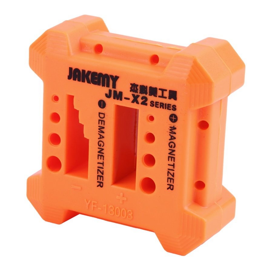 JM-X2 Magnetizer Demagnetizer Box To Collect Screwdriver Magnetic Tools Kit #R