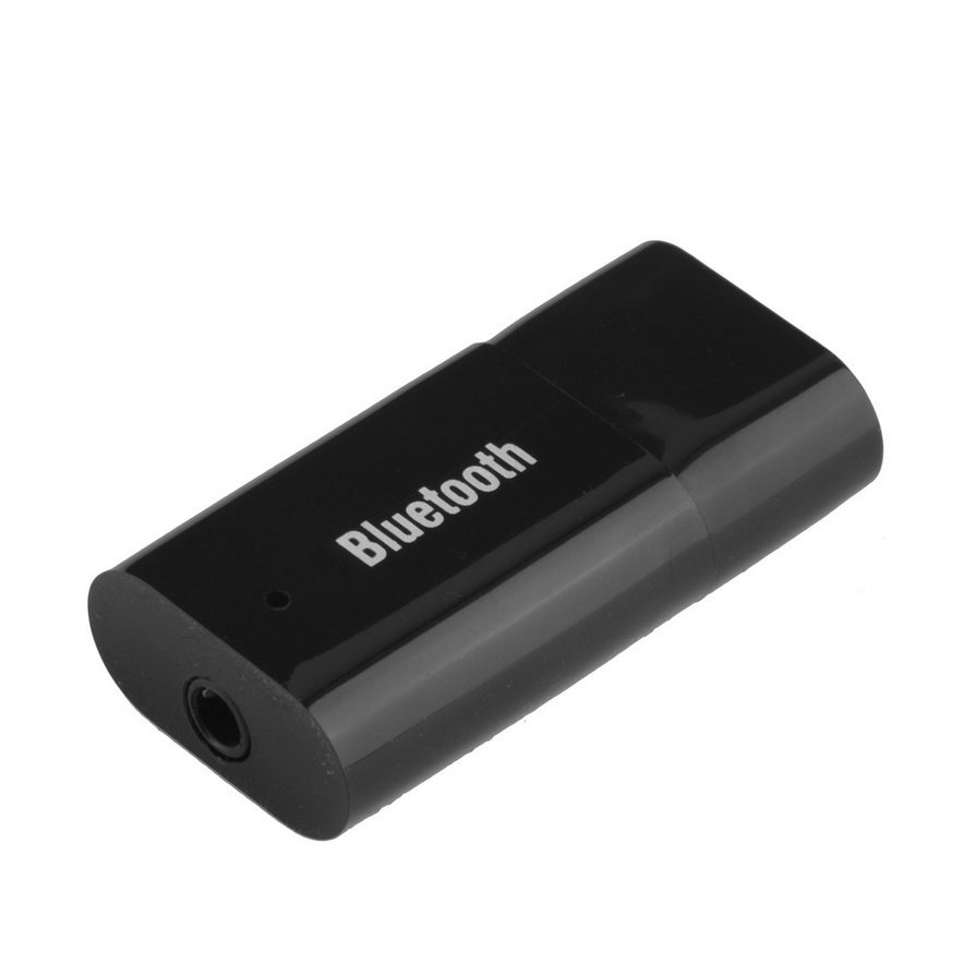 USB Bluetooth Music Stereo Wireless Audio Receiver Adapter for Car Home Use HS