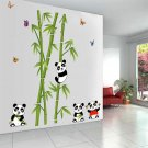 Panda Bamboo Pattern Removable Wall Sticker for Home Decal Decoration Backup #A