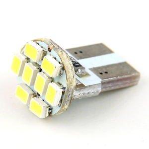 White 8 SMD LED Wedge Light Bulbs 921 2825 2921 T10 194 W5W DC 12V Car Lamp HS