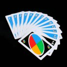 Family  Entertainment Board Game UNO Fun Poker Playing Cards Puzzle Games #D