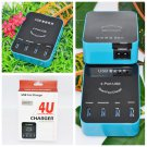 New Hot Portable 4 Ports USB Smart Speed Charger Digital Charger H5