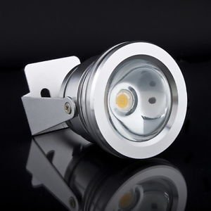 Aluminum 12V 10W LED Floodlight Waterproof Cool Cold White Flood Light Lamp HS