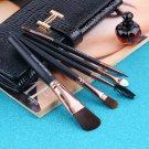 Eye Shadow Foundation Eyebrow Lip Brush Makeup Tools 15 pcs/Sets Cosmetic Kits H