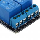 5V 2 Channel Relay Module Shield For Arduino ARM PIC AVR DSP MCU Electronic #~
