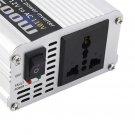 DC 12V to AC 110V Portable Car Power Inverter Charger Converter 1500W WATT b#