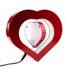 Electro Magnetic Levitating Heart /Round Shaped Floating Picture Frame Home Gift