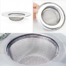 1pc Steel Kitchen Sewer Sink Strainer Filter Plug Barbed Wire Waste Clean #E