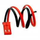 1x 150mm JST Male CONNECTOR PLUG for RC Helicopter LIPO BATTERY HH