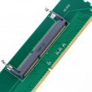 1pc DDR3 Laptop SO-DIMM to Desktop DIMM Memory RAM Connector Adapter DDR3 New #~