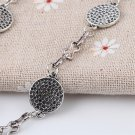 New Fashion Lucky Honeycomb Style Charms Hand Chain Bracelet Jewelry Gift CA