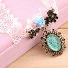 Vintage Lolita Gothic Lace Flower Choker False Collar Necklace Chain Pendant @*