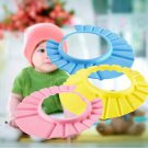 Soft Baby Kids Children Shampoo Bath Bathing Shower Cap Hat Wash Hair Shield  H5