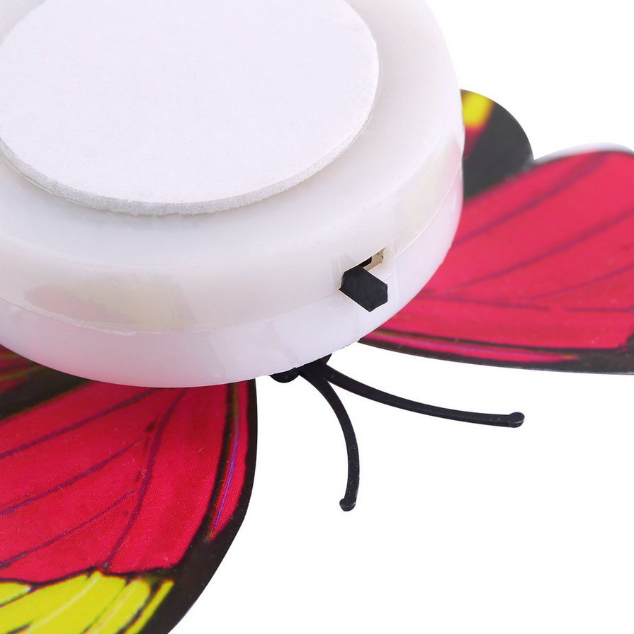 New Lovely Multi-Color Changing Beautiful Butterfly LED Night Light Lamp HS