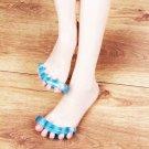 1pcs Silica Gel Toe Separator Stretcher Straightener Alignment Bunion Pain HS