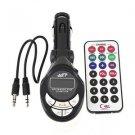 4in1 Car MP3 Player Wireless FM Transmitter Modulator USB SD CD MMC Remote HS