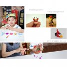 32 Pcs Soft Effect Polymer Clay Plasticine DIY Modelling Craft Art Toys #D