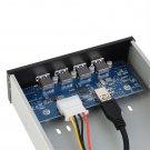 4 Ports USB 3.0 Multi Hub 20 Pin Expansion Front Drive Panel Bracket PC #S