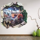 Removable 3D Dinosaur Park PVC Wall Sticker Decal Mural Kids Room Decor HH