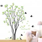 Tree Bird Quote Removable Wall Decal Mural Home Art DIY Decor Wall Sticker CA