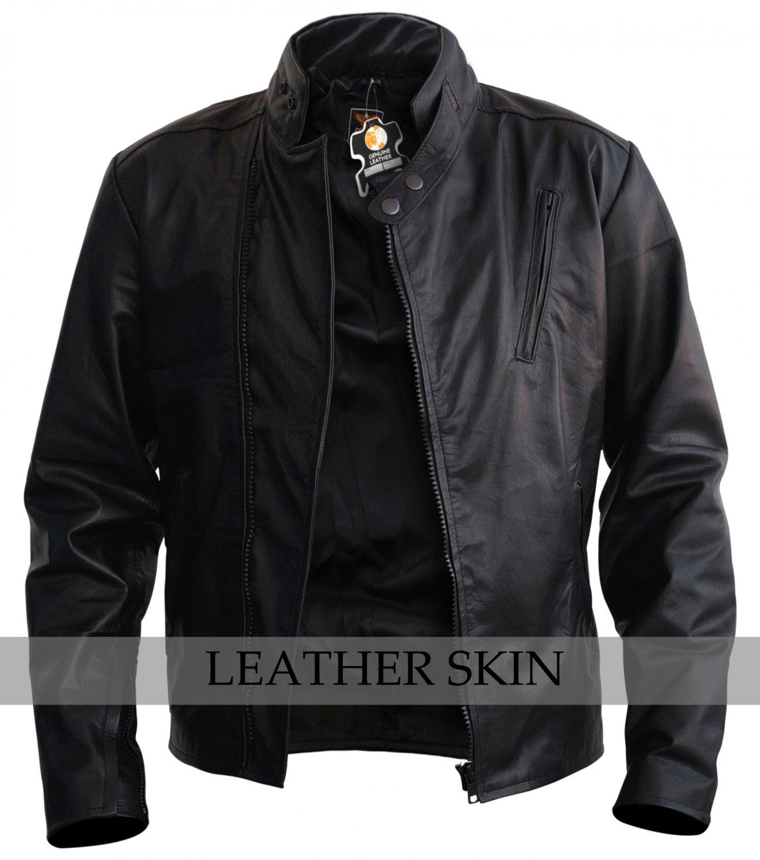 Iron Man Style Genuine Leather Jacket