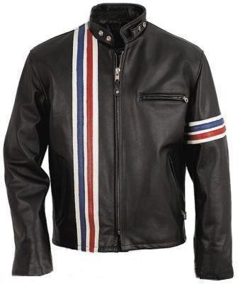Men Easy Rider America Biker Leather Jacket