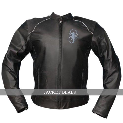 Scorpion Scorpio Black Rider Genuine Leather Jacket